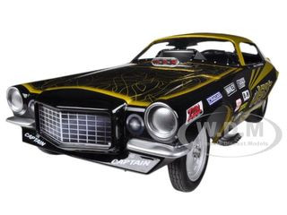 1970's Jeg Coughlin Chevrolet Camaro NHRA Funny Car Limited to 1500pc 1/18 Diecast Model Car Autoworld AW1160