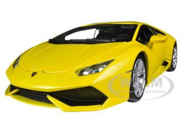Lamborghini Huracan LP610-4 Yellow 1/18 Diecast Car Model Bburago 11038