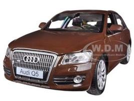 Audi Q5 Brown 1/24 Diecast Car Model Motormax 73385