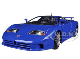 Bugatti EB 110 Blue 1/24 Diecast Car Model Bburago 22025