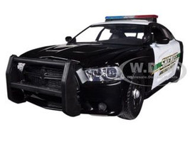 2014 Dodge Charger Pursuit Socorro County Sheriff Police 1/24 Diecast Car Model Motormax 76949