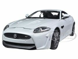 Jaguar XKR-S White 1/24 Diecast Car Model Bburago 21063