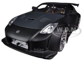 2003 Nissan 350Z Black 1/24 Diecast Car Model Jada 96810