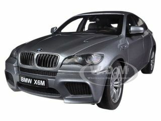 BMW X6 M Space Grey 1/18 Diecast Car Model Kyosho 08762