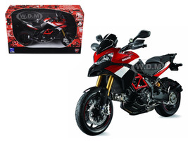 Ducati Multistrada 1200 S Pikes Peak Motorcycle 1/12 Diecast Model New Ray 57533