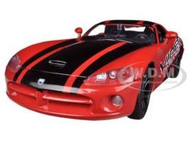 2003 Dodge Viper SRT-10 Red #8 GT Racing 1/24 Diecast Car Model Motormax 73776