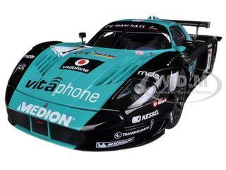 Maserati MC12 FIA GT1 #1 2010 Championship Winner M.Bartels / A.Bertolini 1/18 Diecast Car Model  Autoart 81035