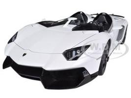 Lamborghini Aventador J White 1/18 Diecast Car Model AutoArt 74674
