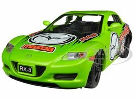 Mazda RX-8 Green #5 GT Racing 1/24 Diecast Car Model Motormax 73778