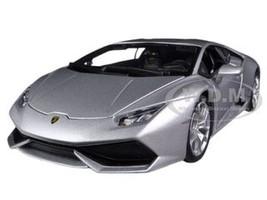 Lamborghini Huracan LP610-4 Silver 1/18 Diecast Car Model Bburago 11038