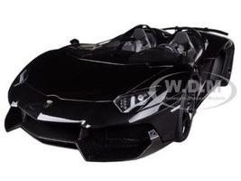 Lamborghini Aventador J Black 1/18 Diecast Car Model Autoart 74676