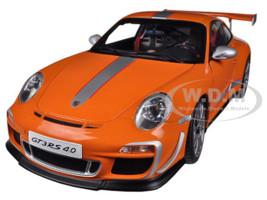 Porsche 911 (997) GT3 RS 4.0 Orange 1/18 Diecast Car Model Autoart 78148