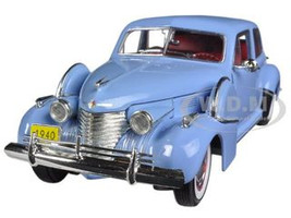 1940 Cadillac Sixty Special Blue 1/32 Diecast Car Model Signature Models 32361