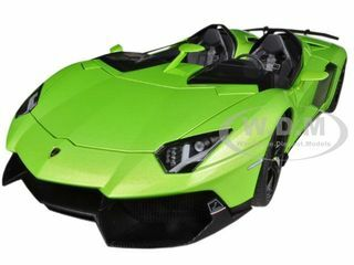 Lamborghini Aventador J Green 1/18 Diecast Car Model AutoArt 74677