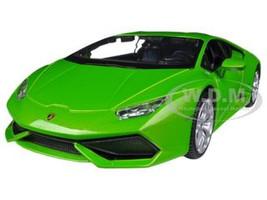 Lamborghini Huracan LP610-4 Green 1/24 Diecast Model Car Maisto 31509
