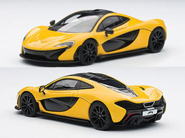 Mclaren P1 Volcano Yellow 1/43 Diecast Car Model Autoart 56011