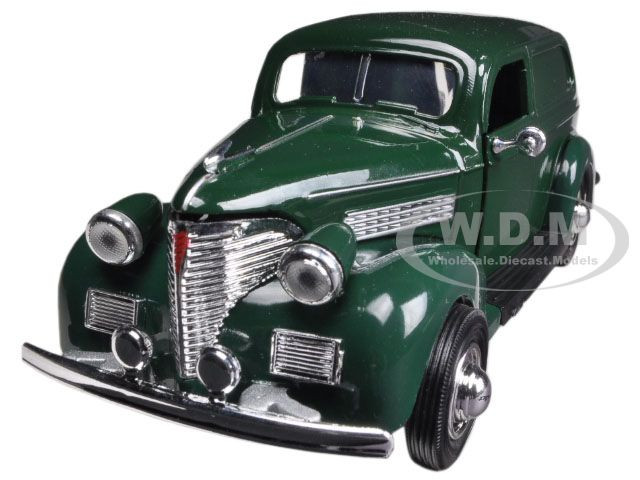 1939 Chevrolet Sedan Delivery Green 1/32 Diecast Car Model by New Ray 55053