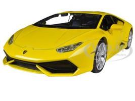 Lamborghini Huracan LP610-4 Yellow 1/24 Diecast Model Car Maisto 31509