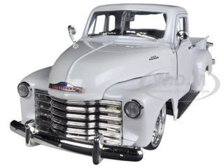 1953 Chevrolet 3100 Pickup Truck White 1/24 Diecast Car Model Jada 96864