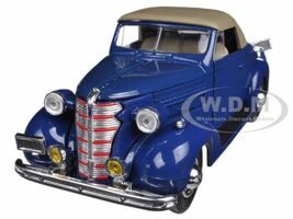 1938 Chevrolet Master Convertible Blue 1/32 Diecast Model Car New Ray 55043