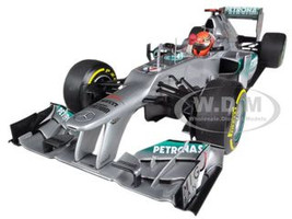Mercedes AMG Petronas F1 Team F1 W03 Michael Schumacher European GP, Valencia 3rd Place 2012 Limited to 1002pc 1/18 Diecast Model Car Minichamps 110120207