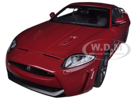 Jaguar XKR-S Italian Racing Red 1/18 Diecast Car Model Autoart 73642
