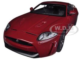 Jaguar XKR-S Italian Racing Red 1/18 Diecast Car Model Autoart 73642