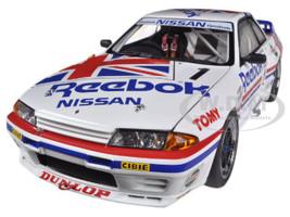 Nissan Skyline GT-R (R32) Group A 1990 Reebok #1 1/18 Diecast Car Model Autoart 89078