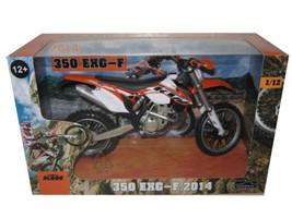2014 KTM 350 EXC-F Dirt Motorcycle Model 1/12 Automaxx 604400