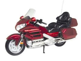 Honda Goldwing Red Bike Motorcycle 1/6 Diecast Model Motormax 76264
