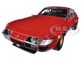 1977 Ferrari 365 GTB/4 Daytona Red High End Version 1/18 Diecast Car Model Kyosho 08165