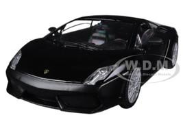 Lamborghini Gallardo LP-560-4 Matt Black 1/24 Diecast Car Model Motormax 73362
