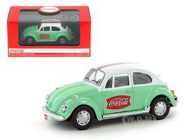 1966 Volkswagen Beetle Coca Cola Green 1/43 Diecast Car Model Motorcity Classics MCC440031