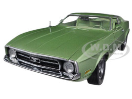 1971 Ford Mustang Sportsroof Medium Green 1/18 Diecast Car Model Sunstar 3620
