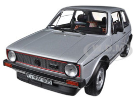 1976 Volkswagen Golf GTi Silver 1/18 Diecast Car Model Norev 188486