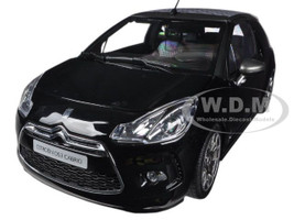 2013 Citroen DS3 A56 Cabrio Black 1/18 Diecast Car Model Norev 181545