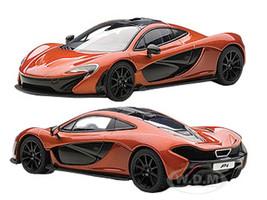 Mclaren P1 Metallic Orange 1/43 Diecast Car Model Autoart 56012