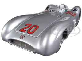 1954 Mercedes W196R Streamliner #20 Kling Reims GP Limited to 1000pc 1/18 Diecast Car Model CMC 128B