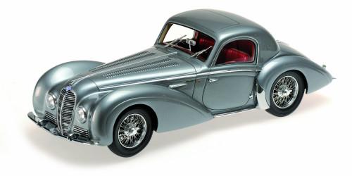 1937 Delahaye Type 145 V-12 Coupe Grey 1/18 Model Car Minichamps 107116120