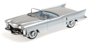 1953 Cadillac Le Mans Dream Car Silver 1/18 Model Car Minichamps 107148230