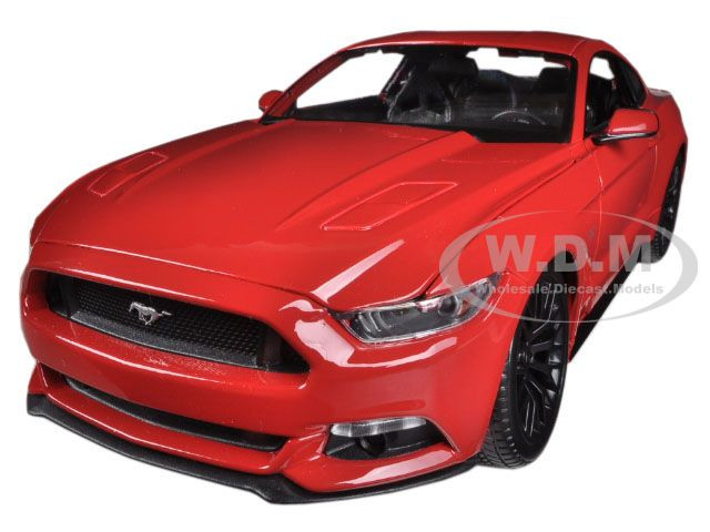 1//43 Norev Ford Mustang GT 2014//2015 Diecast Limited Edition Red
