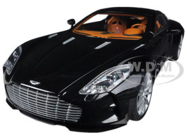 Aston Martin One 77 Black Pearl 1/18 Diecast Car Model Autoart 70241