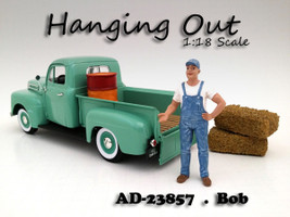 Hanging Out Bob Figure For 1:18 Scale Models by American Diorama 23857