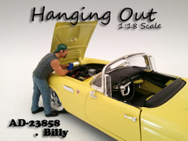 Hanging Out Billy Figure For 1:18 Scale Models American Diorama 23858