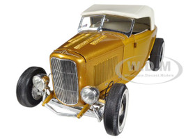 1932 Ford Roadster Release #2 in Majestic Pagan Gold 1/18 Diecast Car Model by Acme  A1805007