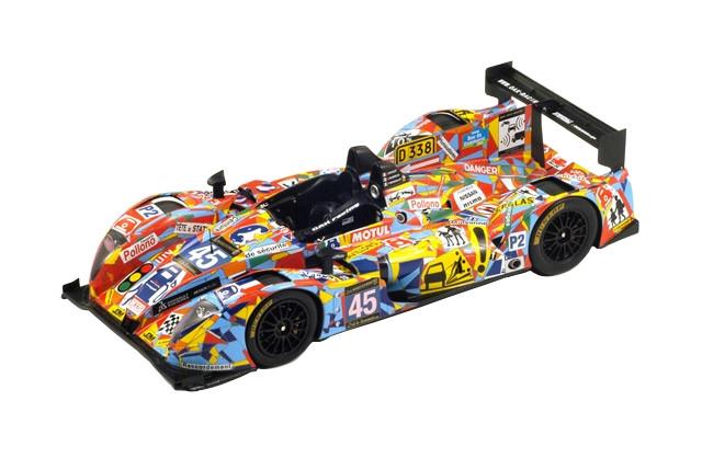 Morgan -Nissan OAK Racing #45 LeMans 2013 J-M Merlin/P.Mondolot/J.Nicolet 1/18 Model Car Spark 18S096