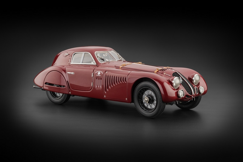 1938 Alfa Romeo 8C 2900 B Speciale Touring Coupe 1/18 Diecast Car Model CMC 107