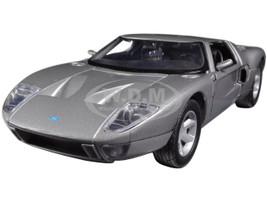 Ford GT Silver 1/24 Diecast Car Model Motormax 73297