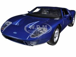 Ford GT Blue 1/24 Diecast Car Model Motormax 73297