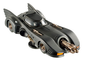 Elite 1992 Batman Returns Batmobile Cutl Classics Michael Keaton 1/18 Diecast Car Model Hotwheels BLY24